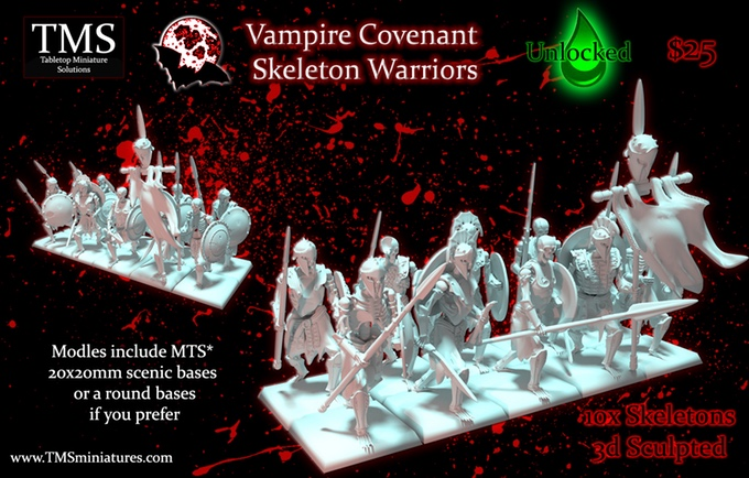 VC Skeleton Warriors