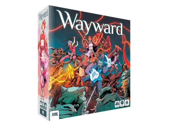 Idw Games To Release Wayward Board Game Tabletop Gaming News