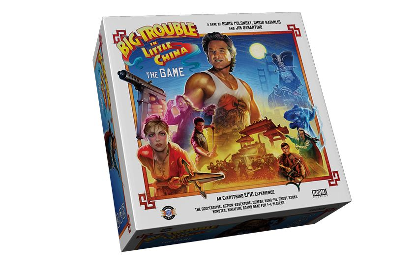 Amazon.com: Big Trouble in Little China The Game: Toys & Games