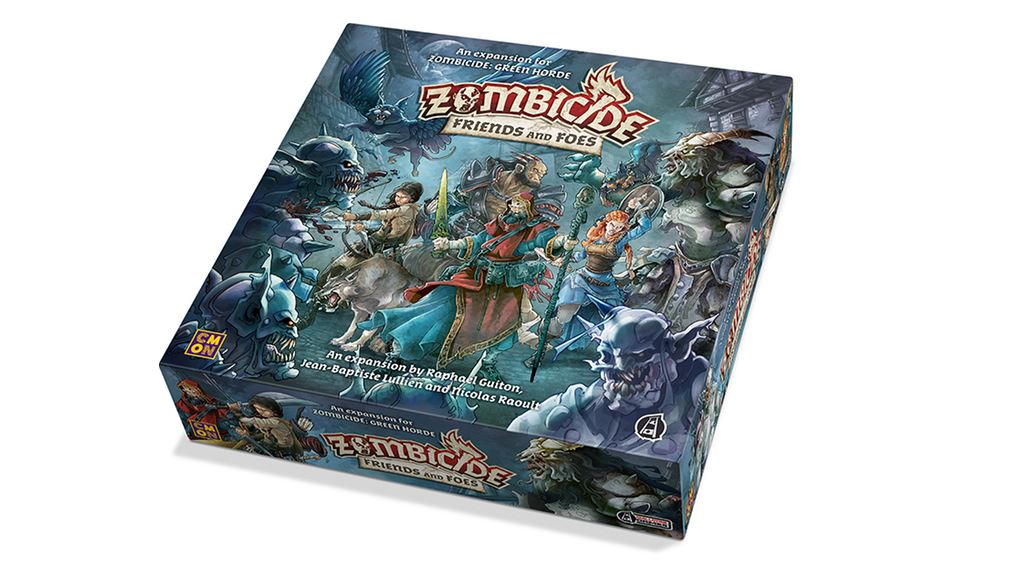 Friends and Foes Add-On Announced For Green Horde - Tabletop