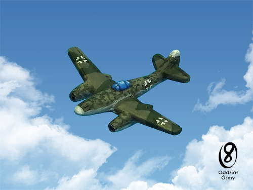 WWH-6131 Me 262 Schwalbe (8 pcs) - world's first operational jet fighter