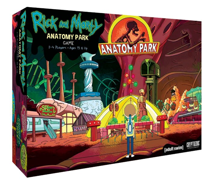 Cryptozoic Announces Release Date For Rick & Morty: Anatomy Park Game