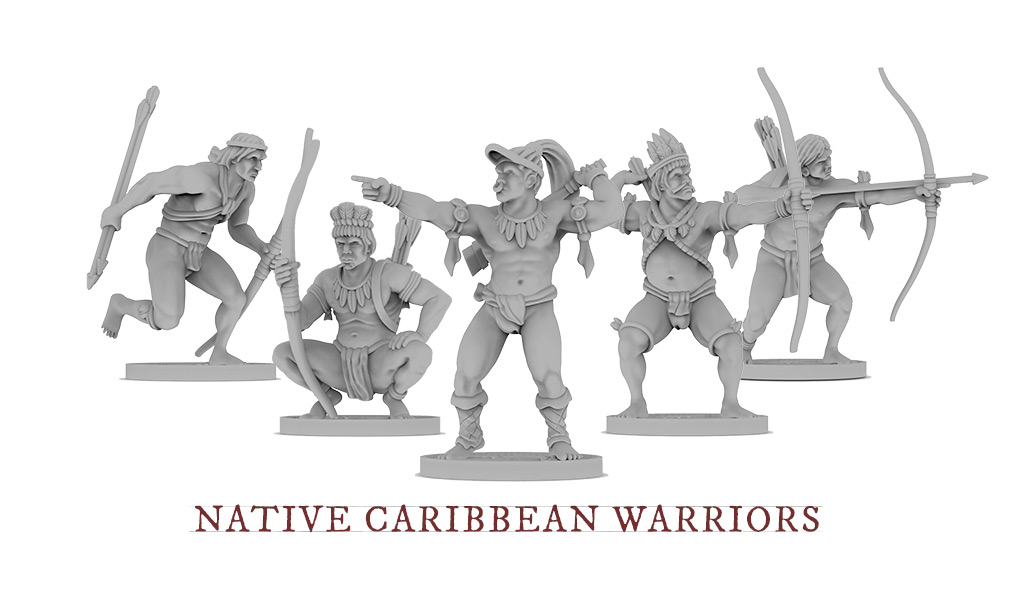 native-caribbeans-warriors