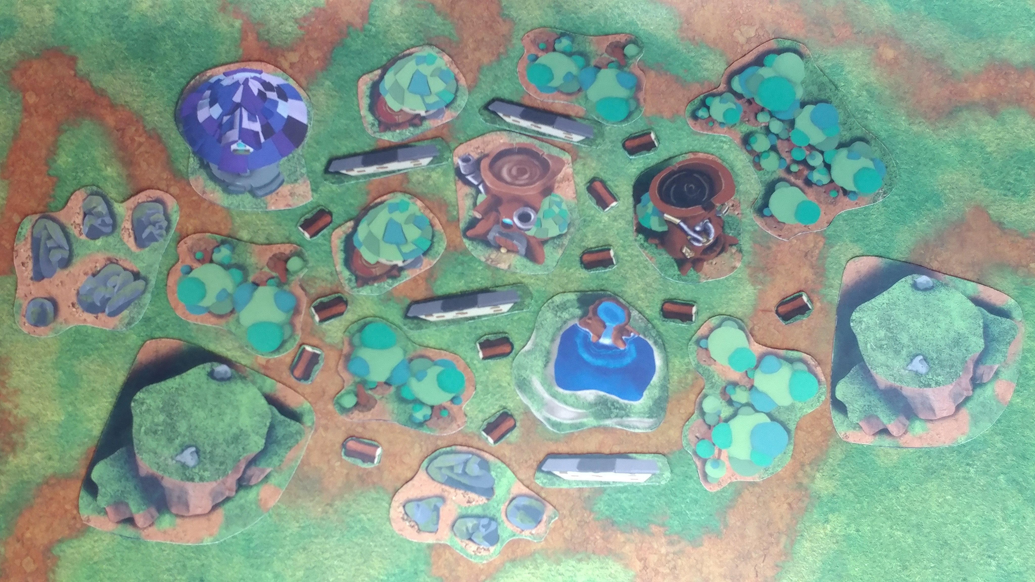 A look at the complete Earth and Arcane 2D Terrain set