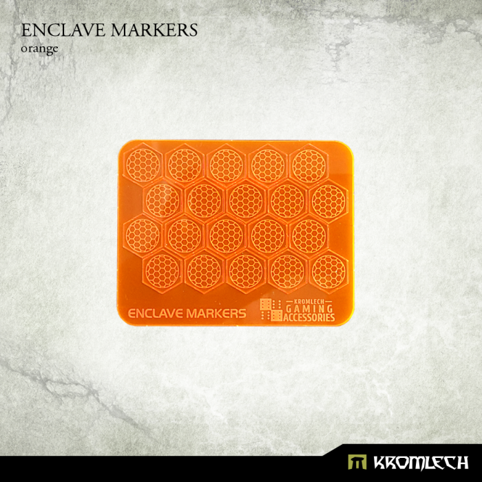 KRGA049 enclave markers orange