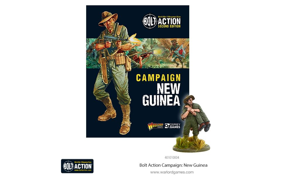 Warlord WWII Bolt Action 402215001 Australian Jungle Division Infantry Section