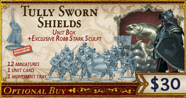 Tulley Sworn Shields Added to A Song of Ice and Fire Kickstarter
