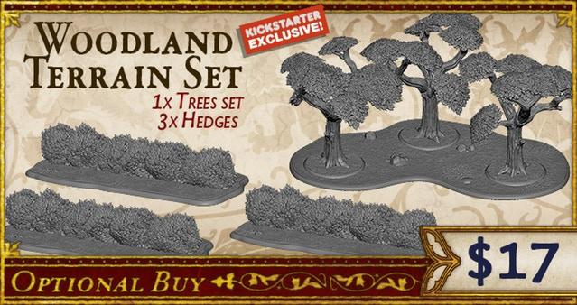Woodland Terrain Set