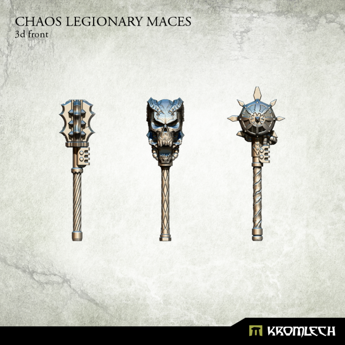 KRCB186 chaos maces 3d