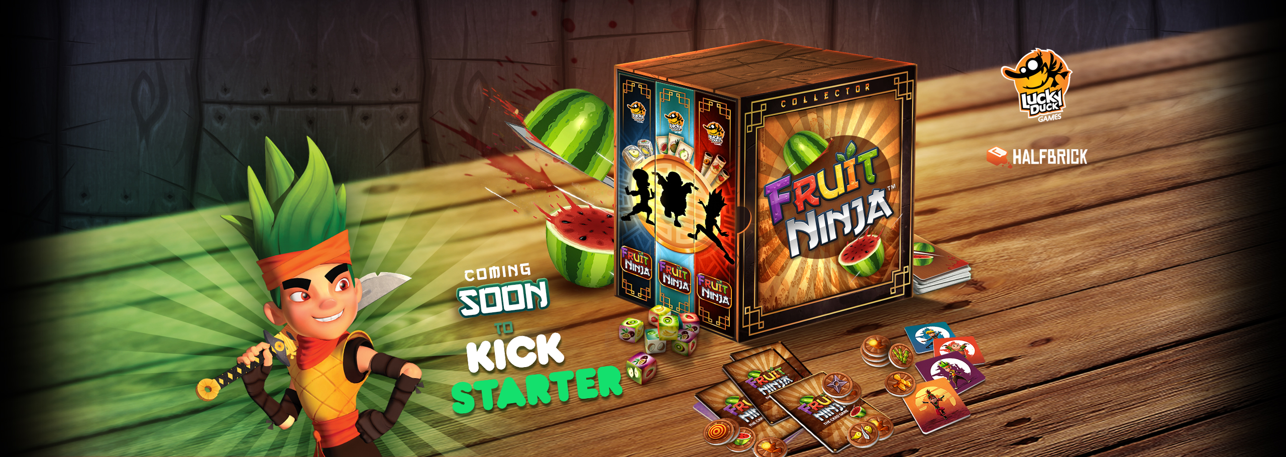 Fruit Ninja Game Series Coming Soon To Kickstarter