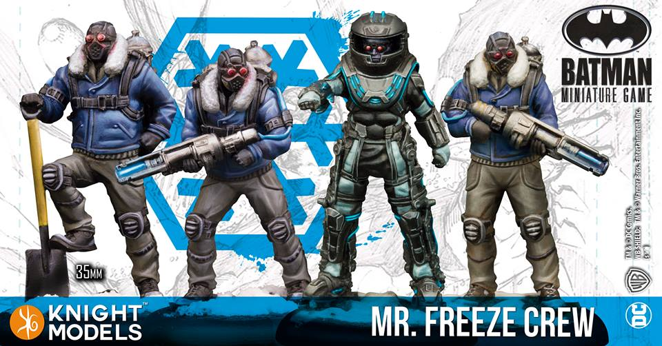 Mr Freeze Crew