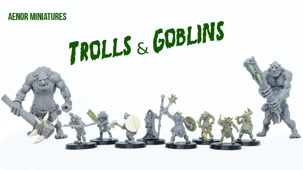 The first Trolls and Goblins unlocked