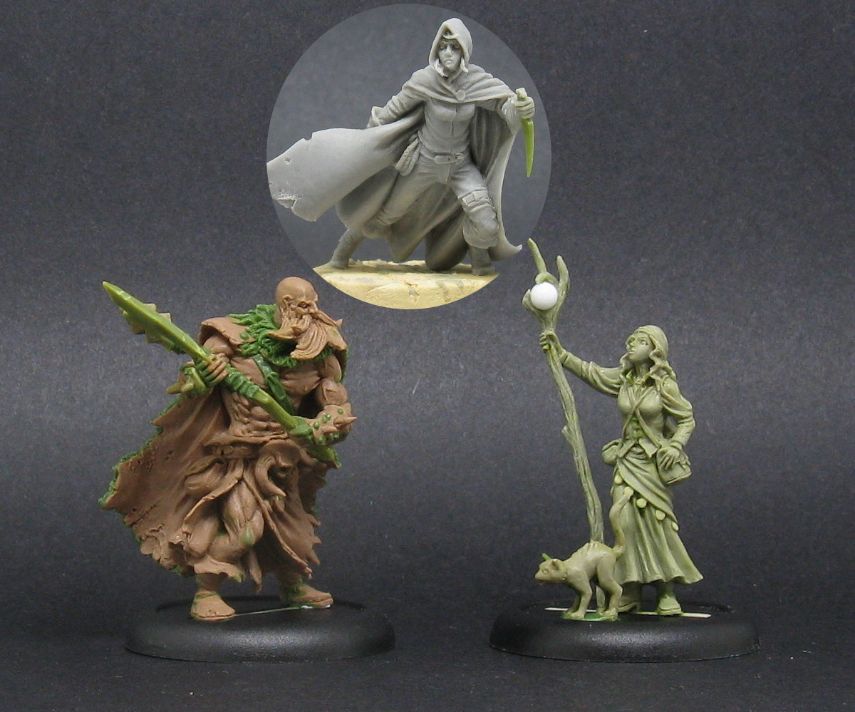 the 3 new fantasy characters on preorder