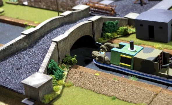 28mm British canal bridge 5