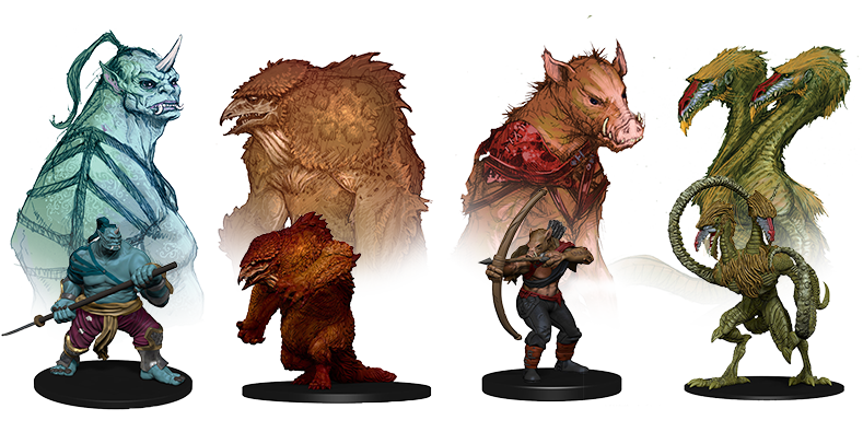 D&D Icons of the Realms: Classic Creatures Now Available ...