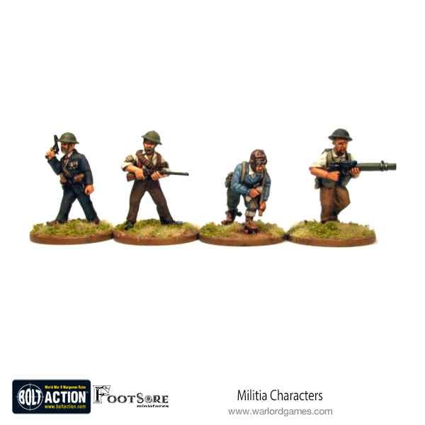 12 figures 28mm WW2 Russian Soviet  Rifle Squad02 Bolt Action Chain of Command