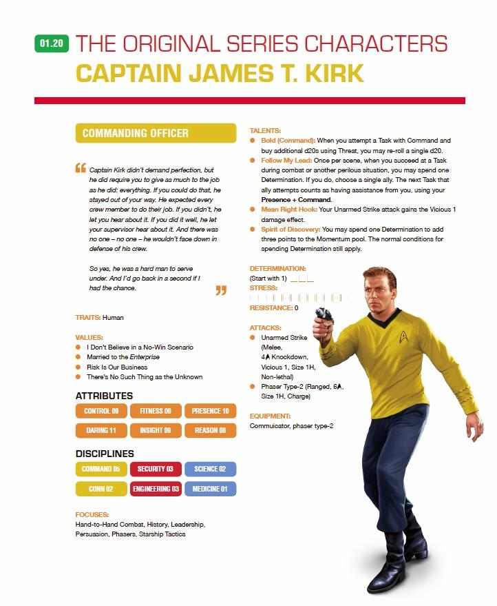New Character Sheets Available For Star Trek: Adventures RPG From
