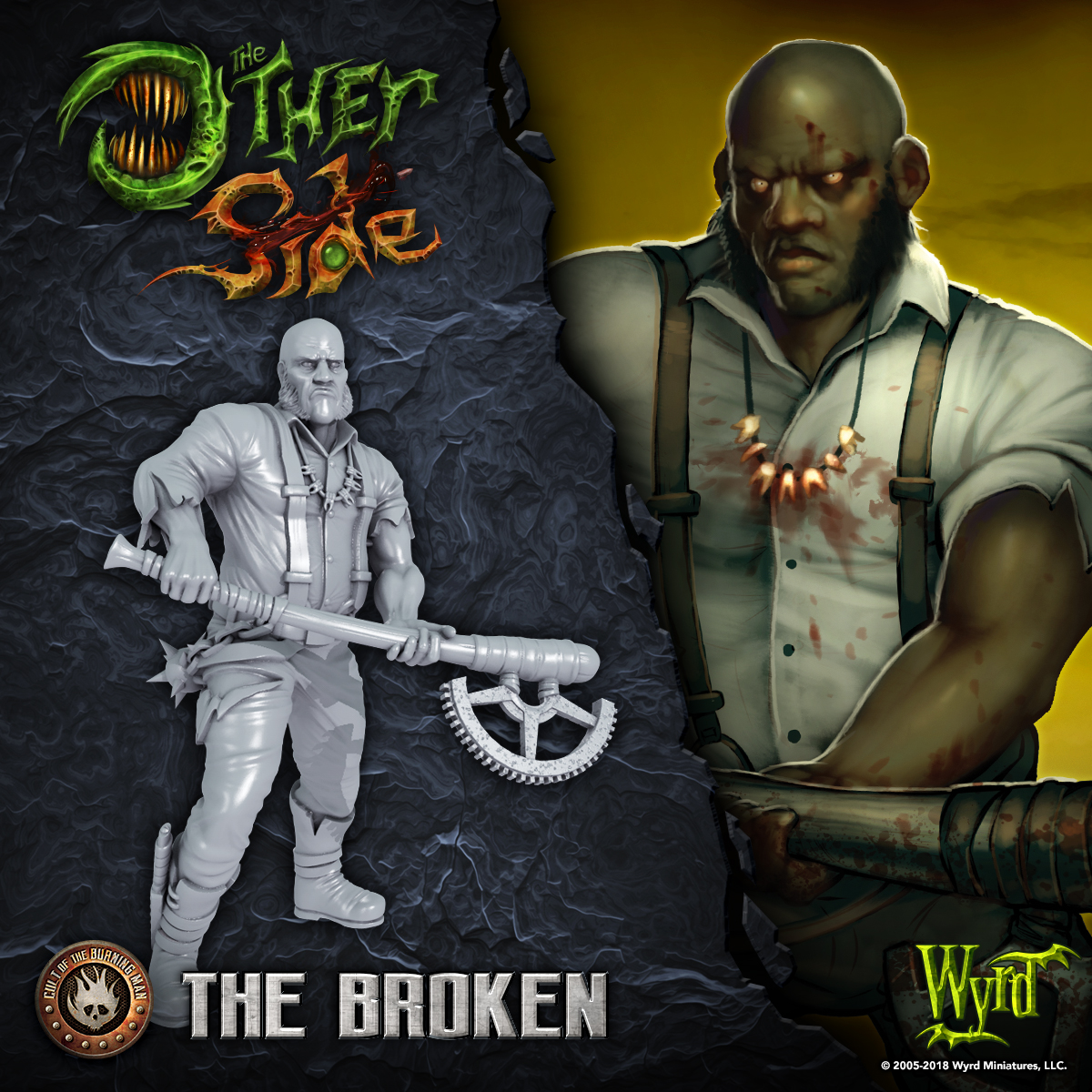 Wyrd Previews The Broken For The Other Side - Tabletop