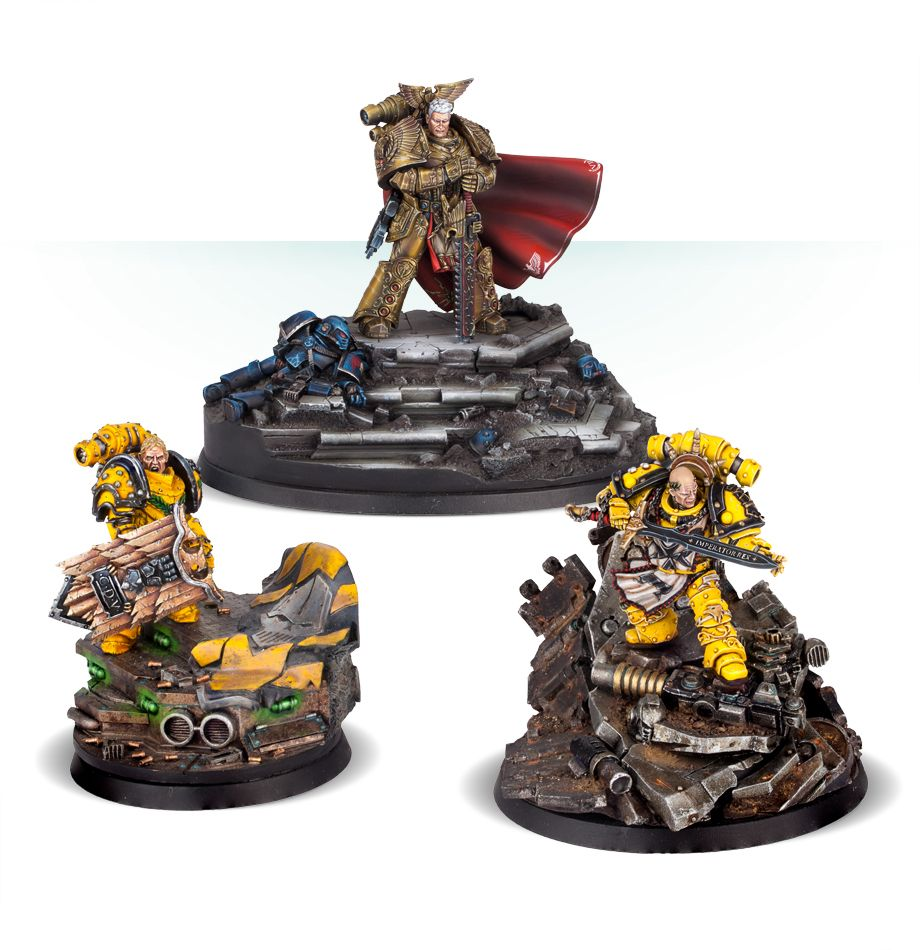 New Imperial Fists Available To Order From Forge World - Tabletop