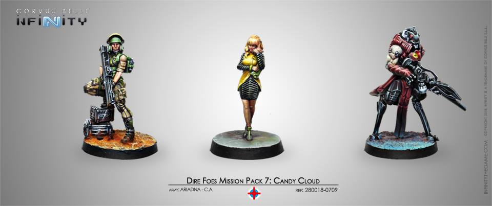 Dire Foes Mission Pack 7 Candy Cloud