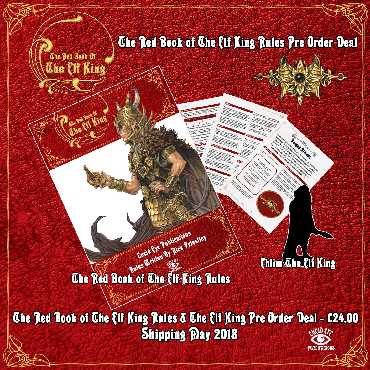 The Red Book of The Elf King Rules Deal