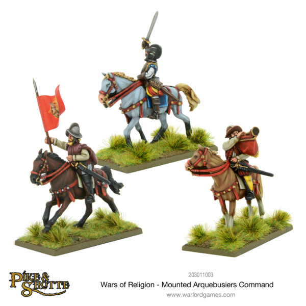 203011002-Wars-of-Religion-Mounted-Arquebusiers-Command-01-600x600