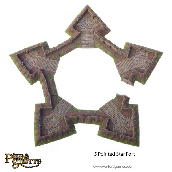 5-Star-Pointed-Fort