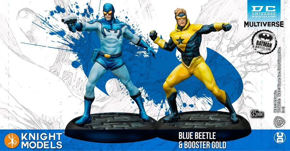 Blue Beetle and Booster Gold
